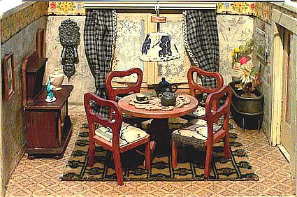 dubbele kamer uit de jaren 40 de stoelen in de woonkamer zijn van paul hubsch 1949