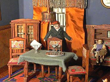 De poppenhuizen van dick en lia for Complete meubelset