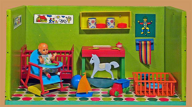 Modella (3x) babykamer, slaapkamer, en zitkamer.