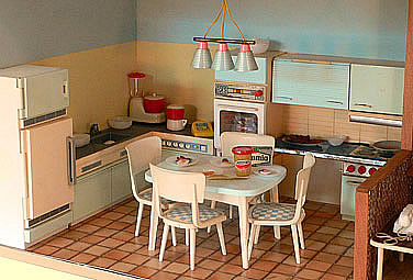 De poppenhuizen van dick en lia - Meubilair amerikaanse keuken ...
