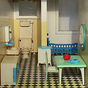 De poppenhuizen van dick en lia for Jaren 50 60 meubels