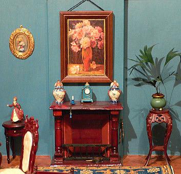 De poppenhuizen van dick en lia - Barokke stijl kamer ...